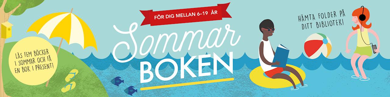 Sommarboken - Läs fem böcker i sommar och få en bok i present! För dig mellan 6-19 år