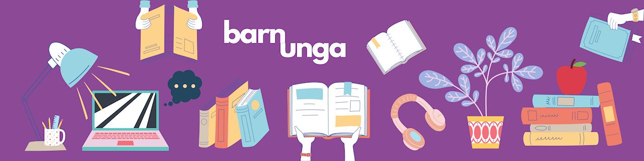 Bibliotek för barn och unga. Vi matar din läslust, fantasi och vetgirighet.
