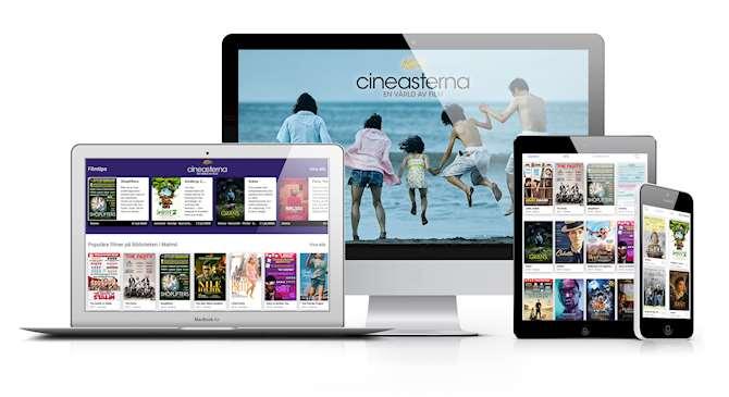 Bild på streamingtjänsten Cineasterna